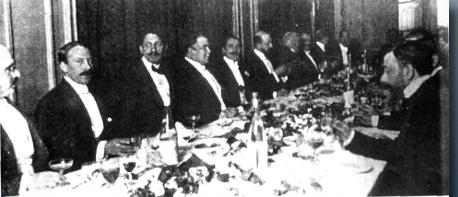 Gómez Carrillo y Rubén Darío, Banquete en honor de Darío. París, 1912