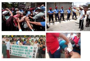 Inágenes de La Prensa y Confidencial