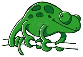 Imagen en:http://es.123rf.com/photo_14846650_lindo-verde-camaleon-sentado-en-una-rama.html
