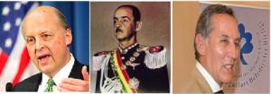 NegroPonte, de la CIA y la DNI. Al centro,  Hugo Banzer. En el otro extremo, Mac Lean.