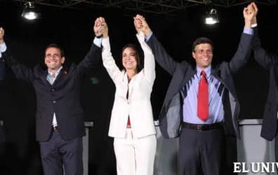 Triunvirato oposicion Venezuela
