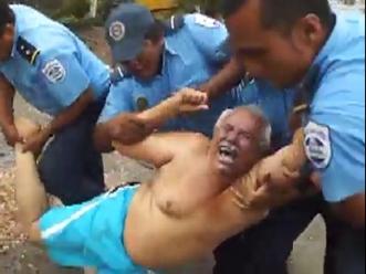 La Prensa. Imagen de video tomado por el hijo del empresario Arcia.