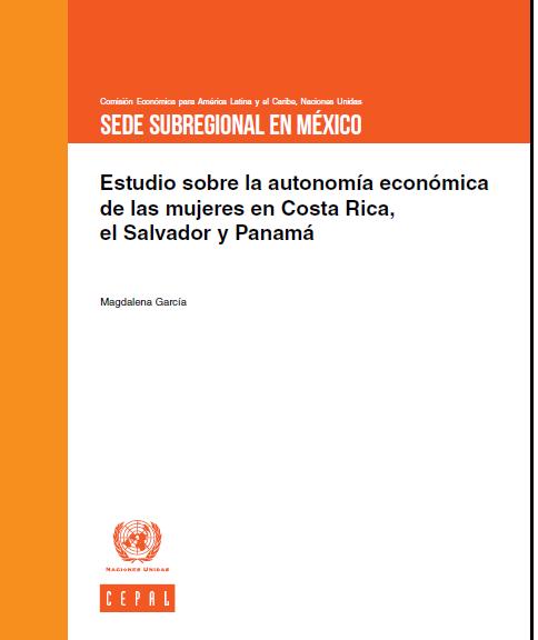Cepal Autonomia economica mujeres